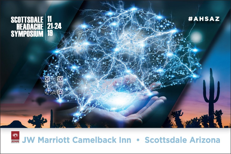 2019 Scottsdale Headache Symposium event banner