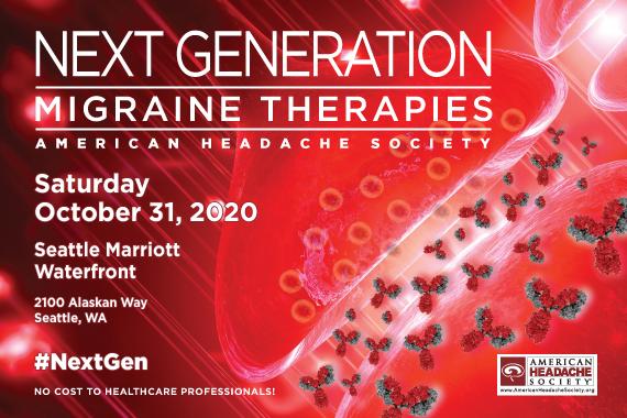 Next Generation Migraine Therapies – Seattle (Rescheduled)