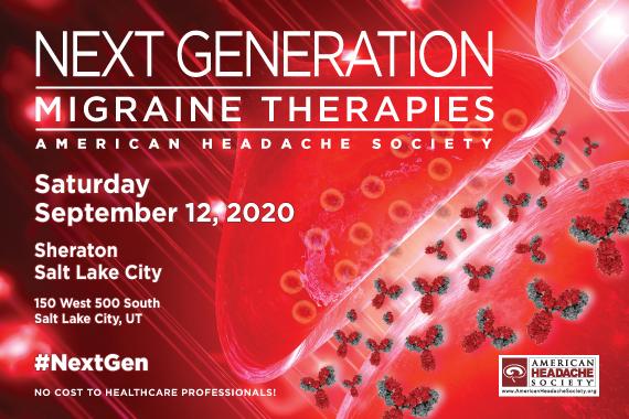 Next Generation Migraine Therapies – Salt Lake City (Rescheduled)